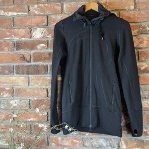 Lululemon Black Turtleneck & Hooded Define Jacket